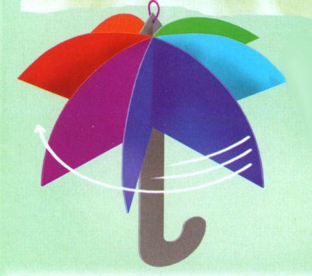 Зонтики своими руками из бумаги
