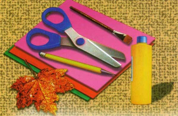 Аппликации из бумаги клея ножниц